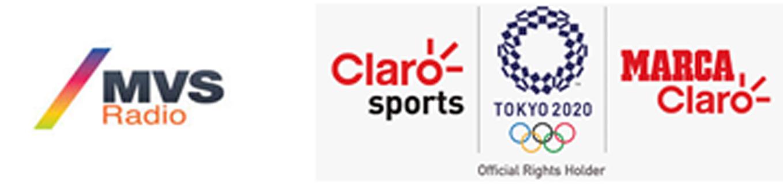 MVS Radio, Claro Sports y Marca Claro se unen para traer la emoción de los Juegos Olímpicos Tokyo 2020