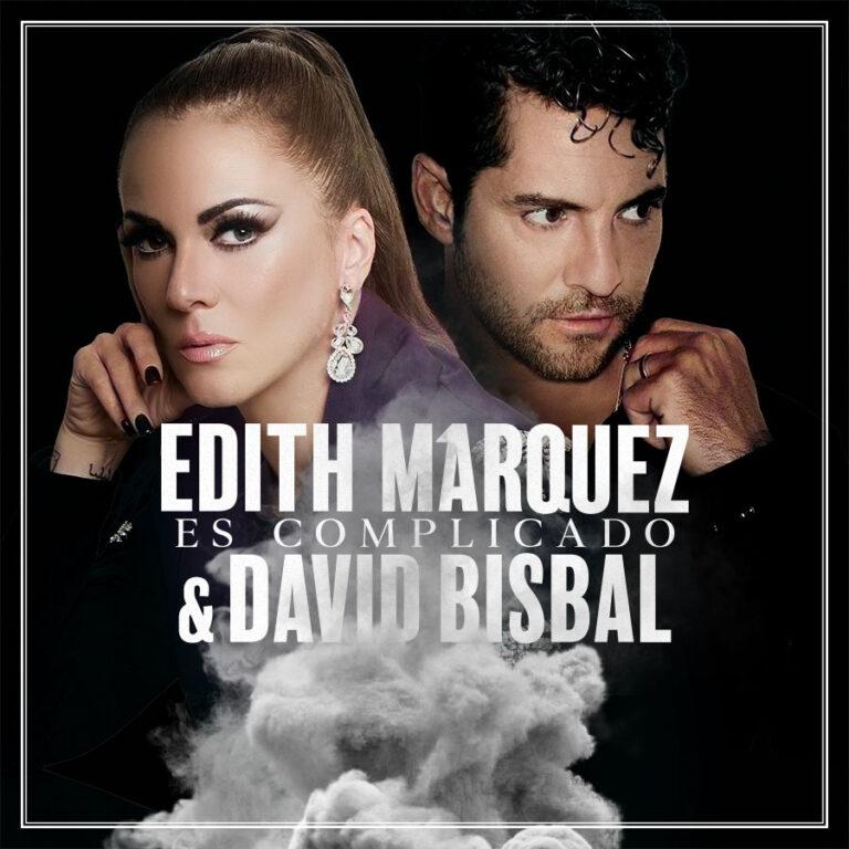 """Lee más sobre el artículo Edith Márquez une su voz a David Bisbal en """"Es Complicado"""""""