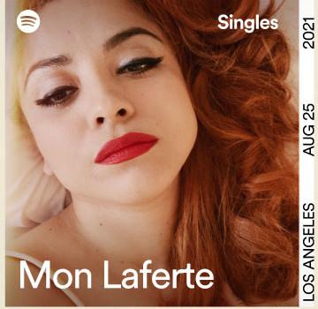 Lee más sobre el artículo Mon Laferte presenta su  Spotify Singles con una nueva versión de Flaco y un cover de Billie Eilish