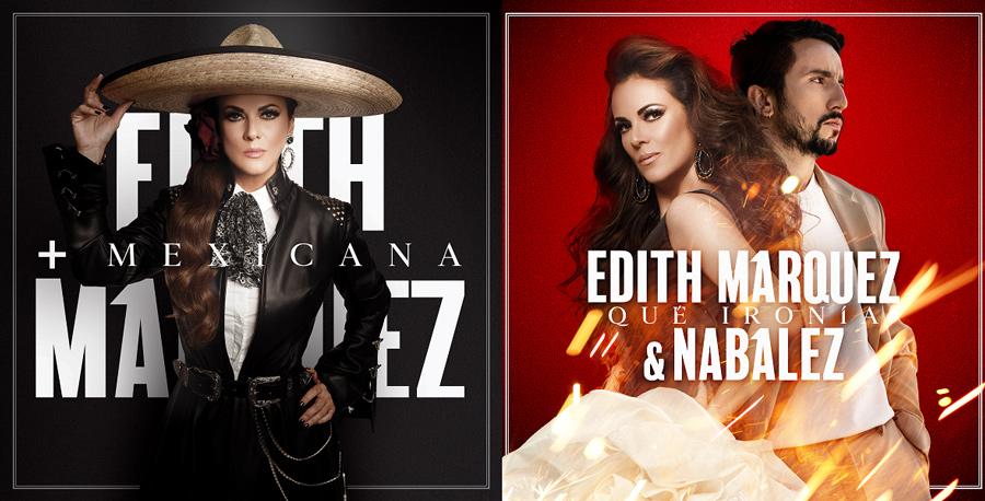 """En este momento estás viendo Edith Márquez lanza """"+ Mexicana"""" su nueva producción discográfica"""